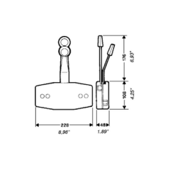 RAIL SUPPORT TR55 FOR C55 (MT)