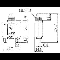 FILTRO OLIO 150/250 HP (PZ)