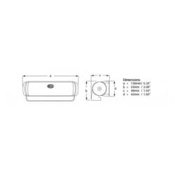 ELECTRIC HORN  12 V. (PZ)
