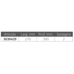 ANGLED WASTE PIPE MM.20 (PZ)